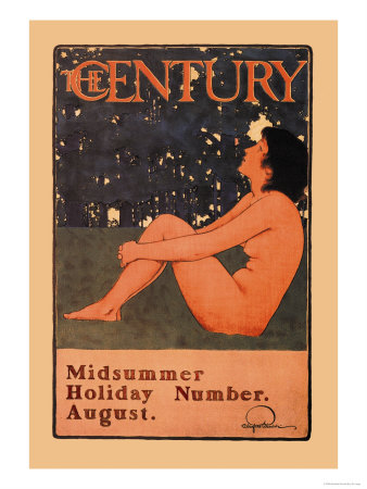 The Century: Midsummer Holiday Number, August Prints by Maxfield Parrish