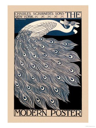 Den moderna affischen Planscher av Will H. Bradley
