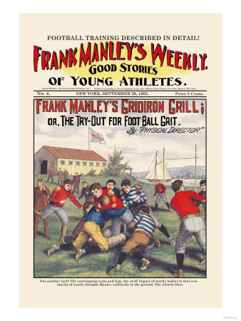 Frank Manley's Gridiron Grill Posters