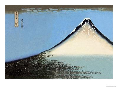 Mount Fuji Poster by Katsushika Hokusai