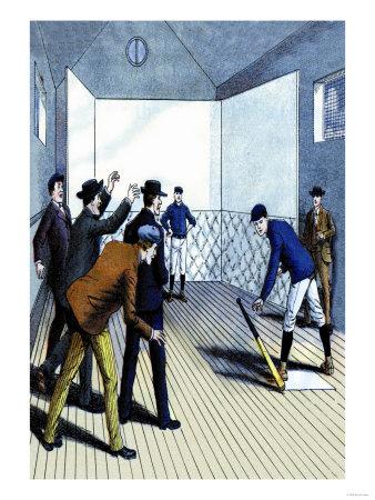 Indoor Batting Practice Prints