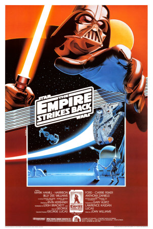 Star Wars - L'Empire contre-attaque Affiche