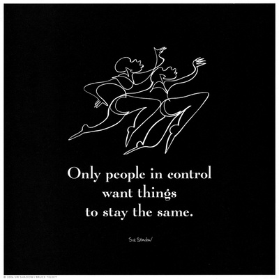 Only People in Control Posters by  Sir Shadow