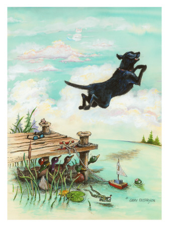 Day at the Lake Giclee Print by Gary Patterson