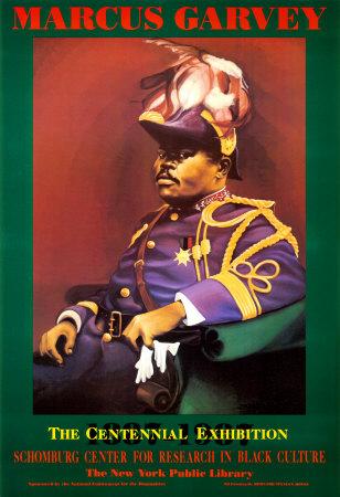Marcus Garvey Art by Bernard Hoyes