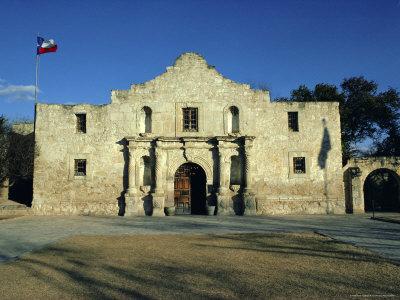 The Alamo, San Antonio, Texas, USA Photographic Print by Walter Rawlings