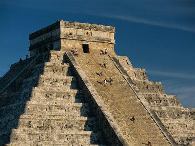 Mayan Ruins, Chichen Itza, Unesco World Heritage Site, Yucatan, Mexico, Central America Photographic Print by Gavin Hellier