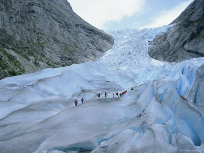 Hellier Gavin glacier climbing tour briksdalsbreen glacier western fjords