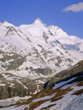 Grossglockner, 3797M, Hohe Tauern National Park Region, Austria Photographic Print by Gavin Hellier