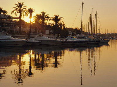 The New Marina, Cala d'Or, Majorca (Mallorca), Balearic Islands, Spain, Europe Fotoprint av Ruth Tomlinson