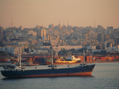 Beirut Harbour, Lebanon, Middle East Photographic Print by I Vanderharst