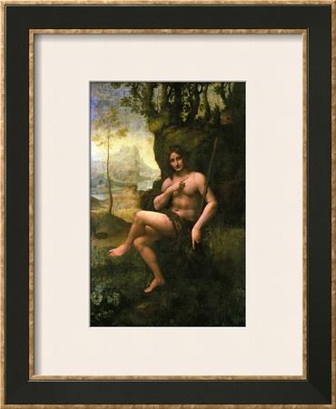 Bacchus, circa 1695 Framed Giclee Print by  Leonardo da Vinci