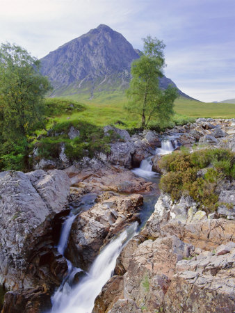 Beauchaille Etive, Glencoe (Glen Coe), Highlands Region, Scotland, UK, Europe Photographic Print by Kathy Collins