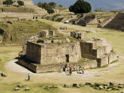 The Ancient Zapotec City of Monte Alban, Near Oaxaca City, Oaxaca, Mexico, North America Photographic Print by Robert Harding