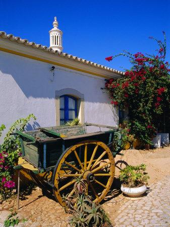 Farmhouse, Silves, Western Algarve, Portugal, Europe Photographic Print by Tom Teegan