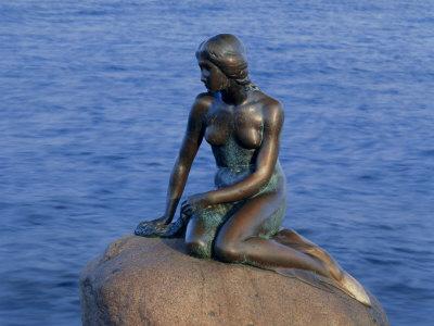 Little Mermaid, Copenhagen, Denmark, Europe Photographic Print by Simon Harris
