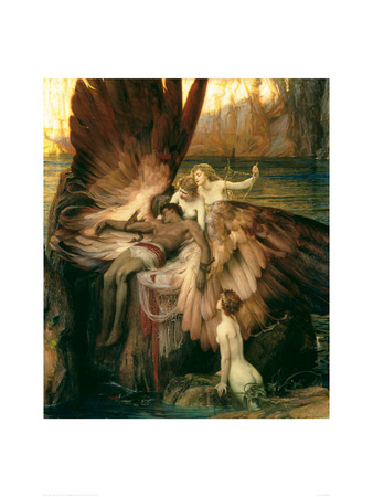 Lament for Icarus Art Print