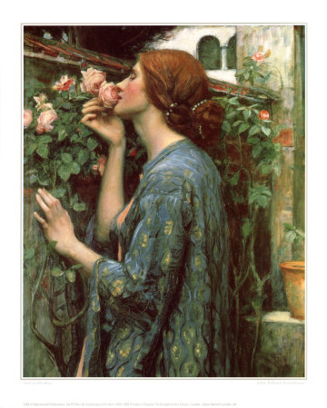 The Soul of the Rose Giclee Print by John William Waterhouse