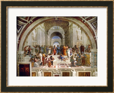 Raphael School Of Athens 1510