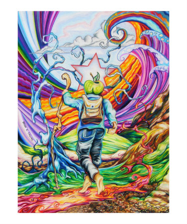 The Hiker Giclee Print