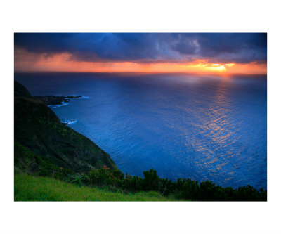 Sunset Azores Islands