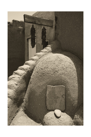 Adobe Baking Oven Hornos Photographic Print by George Oze