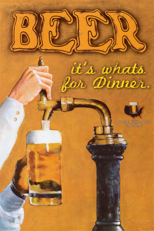 Beer: It's What's for Dinner Affiche
