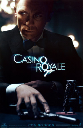 Casino royale daniel craig james bond contemporary movie film poster