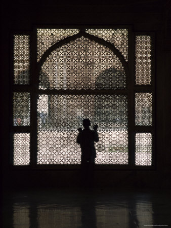 Ornate Screen, Fatehpur Sikri, Unesco World Heritage Site, Uttar Pradesh State, India, Asia Photographic Print by James Gritz