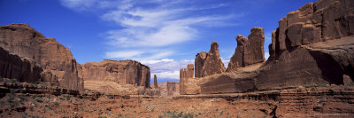 Park Avenue, Arches National Park, Moab, Utah, United States of America (U.S.A.), North America Photographic Print by Lee Frost