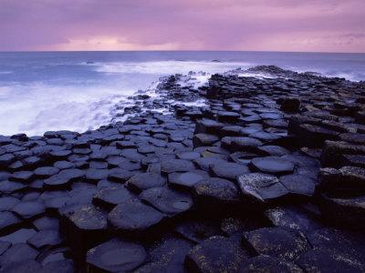 Giant's Causeway, Unesco World Heritage Site, Causeway Coast, Northern Ireland, United Kingdom Photographic Print by Patrick Dieudonne
