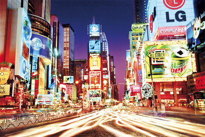 Times Square- New York Affiche