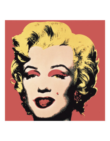 Marilyn, c.1967 (on red ground) Art Print