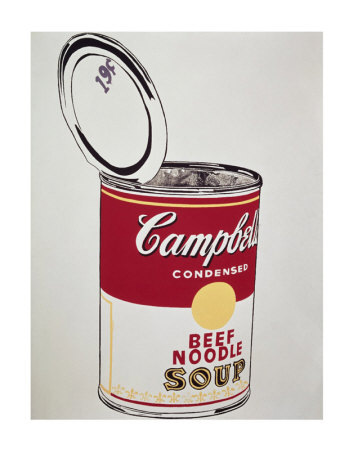 Big Campbell's Soup Can, c.19 Cents, c.1962 Art Print