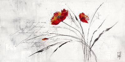 Reve Fleurie IV Prints by Isabelle Zacher-finet