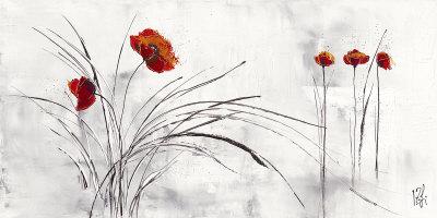 Reve Fleurie V Prints by Isabelle Zacher-finet