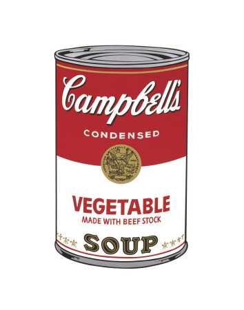 Campbell's Soup I: Vegetable, c.1968 Reproduction d'art