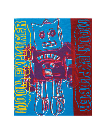 Moon Explorer Robot, c.1983 Art Print