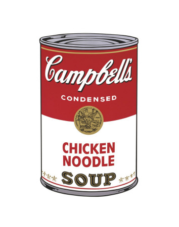 Campbell's Soup I: Chicken Noodle, c.1968 Art Print