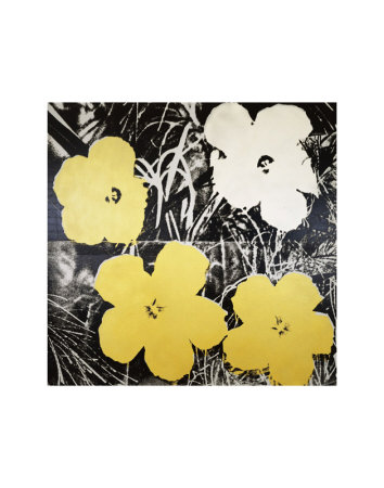 Flowers, c.1966 (Yellow and White) Art Print