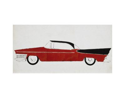 Car, c.1959 Póster por Andy Warhol