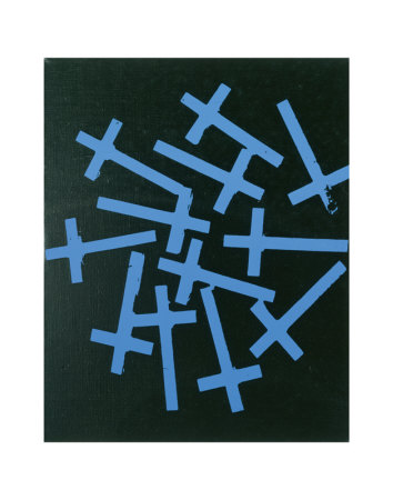Crosses, c.1981-82 Kunsttryk