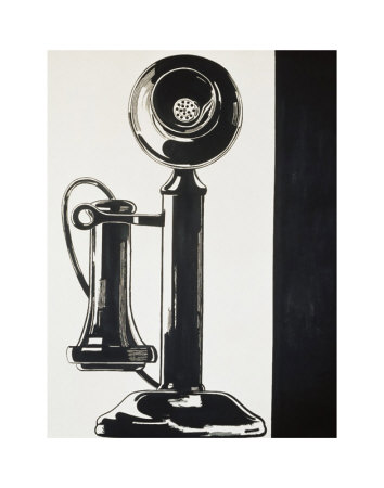 Telephone, c.1961 Art Print