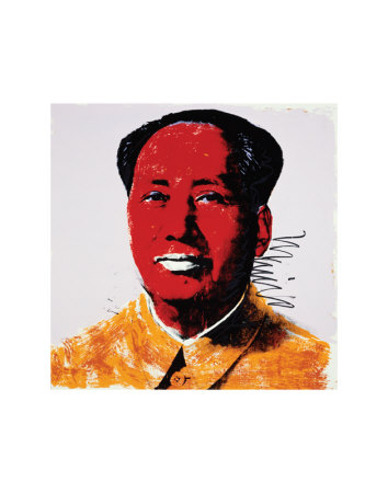 Mao, c.1972 (Red) Kunstdruck