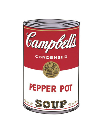 Campbell's Soup I: Pepper Pot, c.1968 Stampa di Andy Warhol