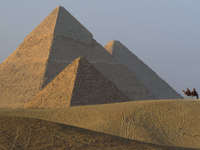 Giza Pyramids, Egypt Photographic Print by James L. Stanfield