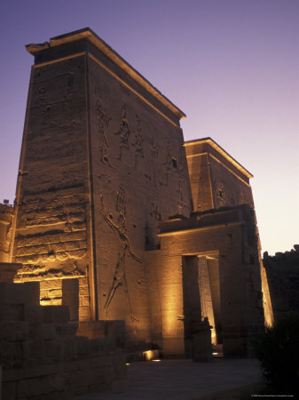 Temple of Philae at Agilka Island, Egypt Photographic Print by Richard Nowitz