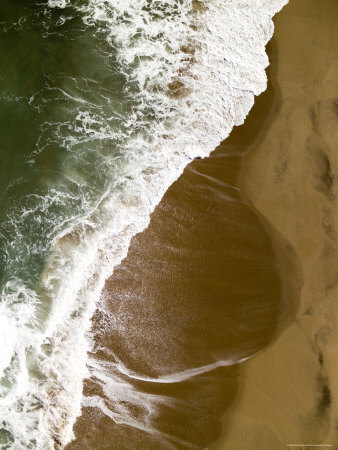 The Atlantic Ocean on the Namibian Coastline Photographic Print by Michael Fay