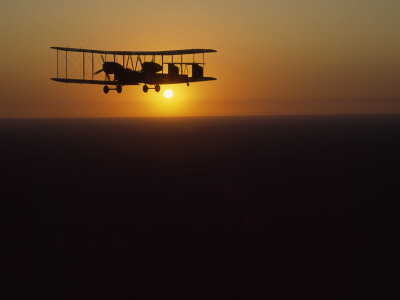 Vimy at Sunrise near Cloncurry as It Passes over Australia's Outback Photographic Print by James L. Stanfield