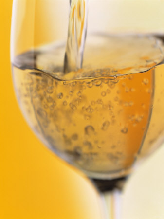 Pouring Prosecco into a Glass Photographic Print by Alexander Feig